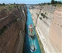 Corinth Canal - The Five days Classical Tour with Meteora, Greece