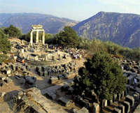 Delphi ruins - The Five days Classical Tour with Meteora - Greece
