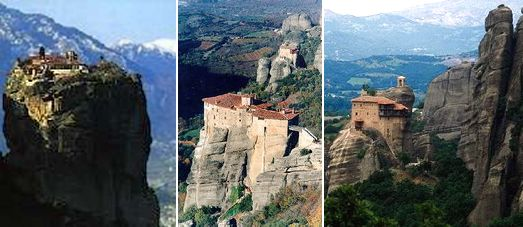 The Byzantine Meteora Monasteries - The Five days Classical Tour with Meteora