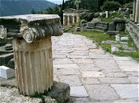 The oracle of Delphi - The Delphi-Meteora three days tour in Greece